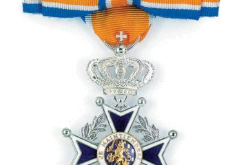 Lyda de Groot-Verdouw Benoemd tot Ridder in Orde van Oranje-Nassau.